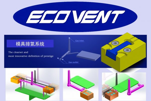 The Product of New Agency Brand : Gas venting system for Injection molding